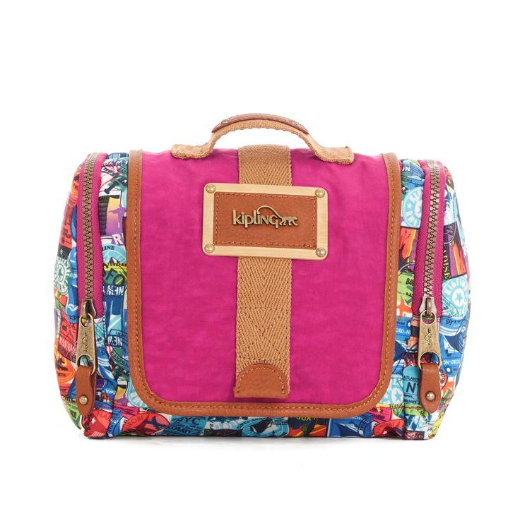 Escapade Travel Toiletry Bag - Hello Adventure | Kipling