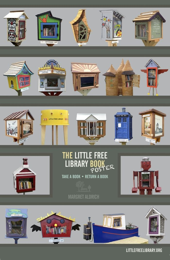 Little Free Library Book - Take A Book, Return A Book...