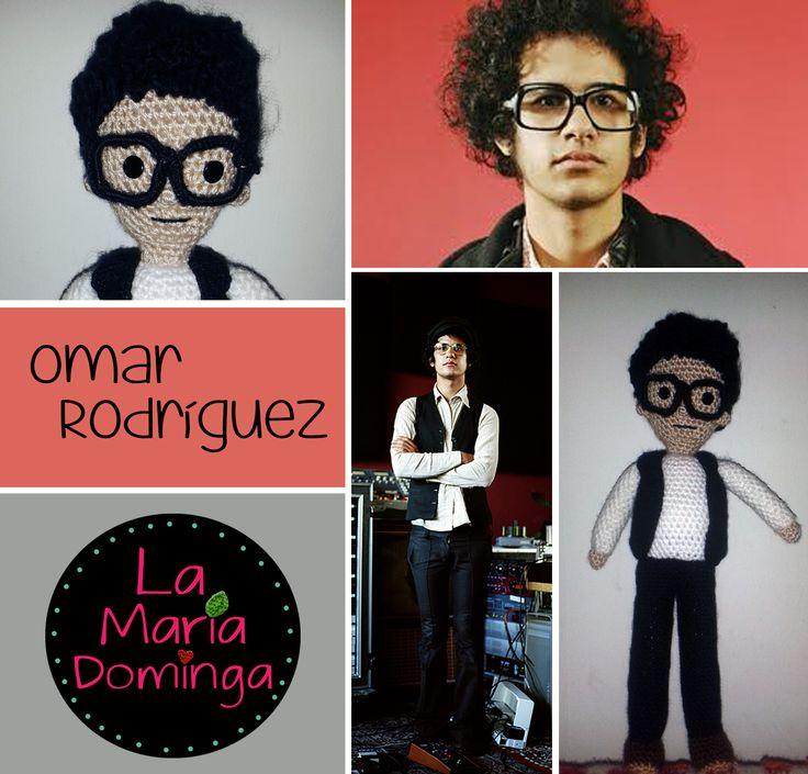 Omar Rodriguez amigurumi