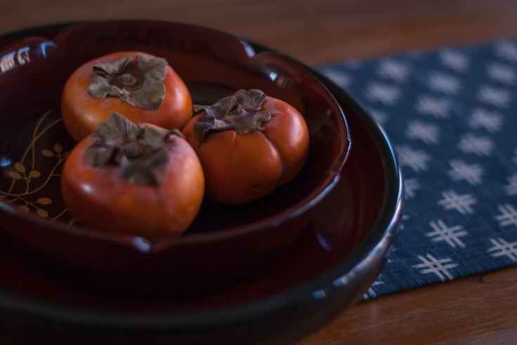 Persimmons and laquer wear