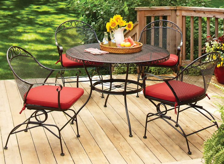 Chic & Durable, The Clayton Court Dining Set Is A Great