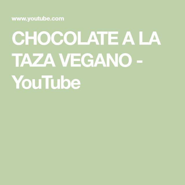 Chocolate A La Taza Vegano Youtube Chocolate A La Taza Vegano