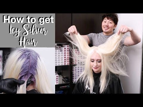 by Guy Tang · How to get Icy Silver Hair - YouTube