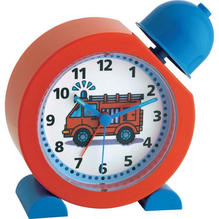 TFA Kinderwekker Brandweer (b x h x d) 133 x 133 x 52 mm in de Conrad online shop