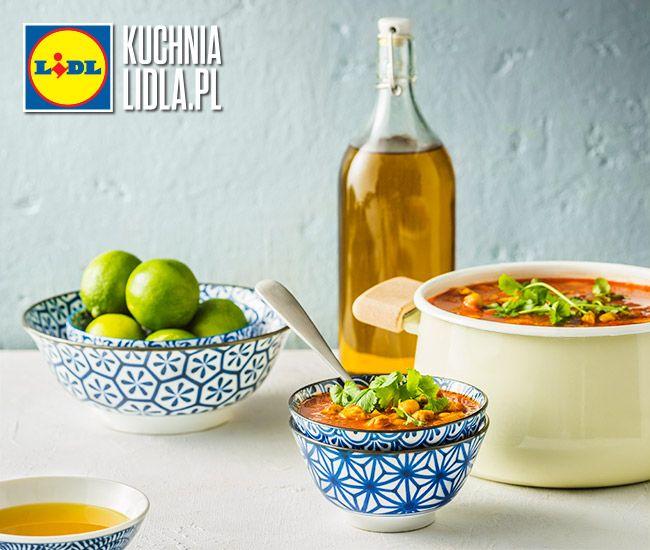 Zupa harira. Kuchnia Lidla - Lidl Polska. #okrasa #zupa #fit #harira