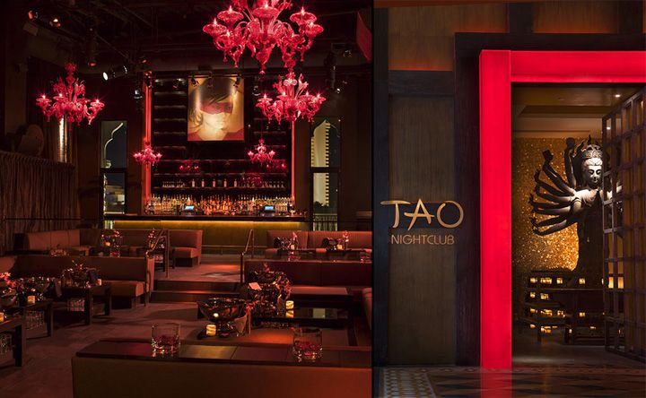 Mixed with modern tao nightclub asian bistro las for Asian cuisine las vegas