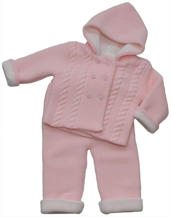 Conjunto rosa de bebe | Baby Pink Set