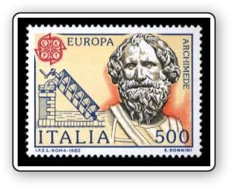 Archimede  #stamps