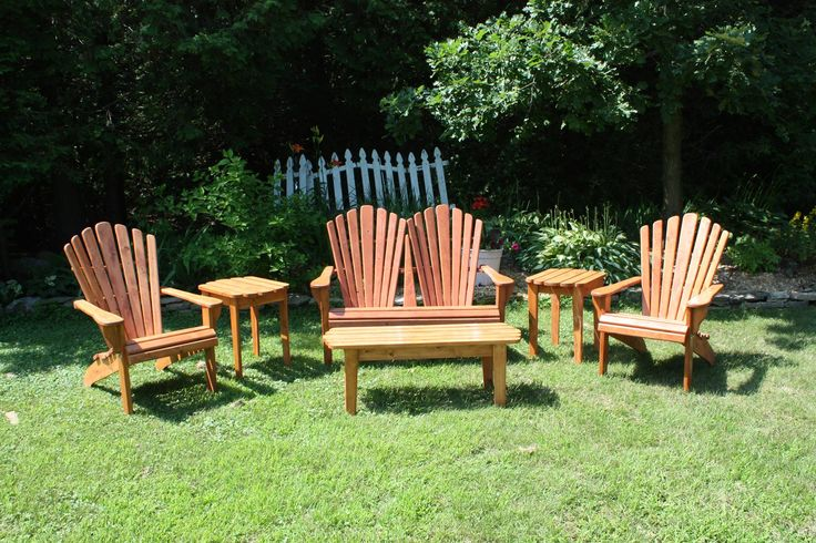 Relax with our hand crafted Adirondack chairs! #fosters