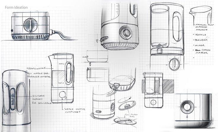 HUB kitchen appliance on Behance