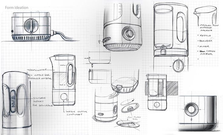 HUB kitchen appliance on Behance