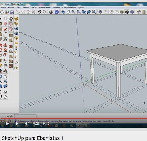 SketchUp para Ebanistas 1 - YouTube