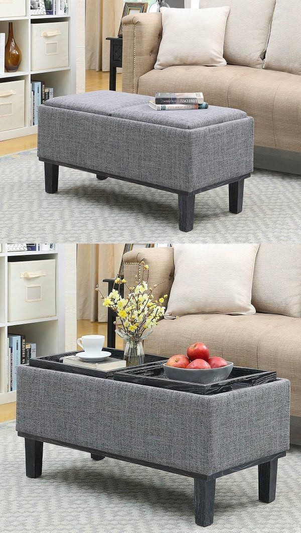 30 Beautiful Ottoman Coffee Tables To Maximise Your Lounge Space Storage Ottoman Coffee Table Ottoman In Living Room Small Living Room Decor