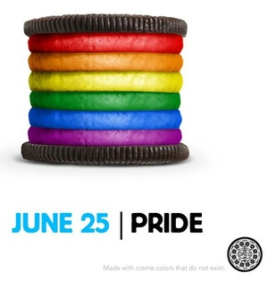 Filled With Pride: Oreo's Rainbow-Colored Cookie