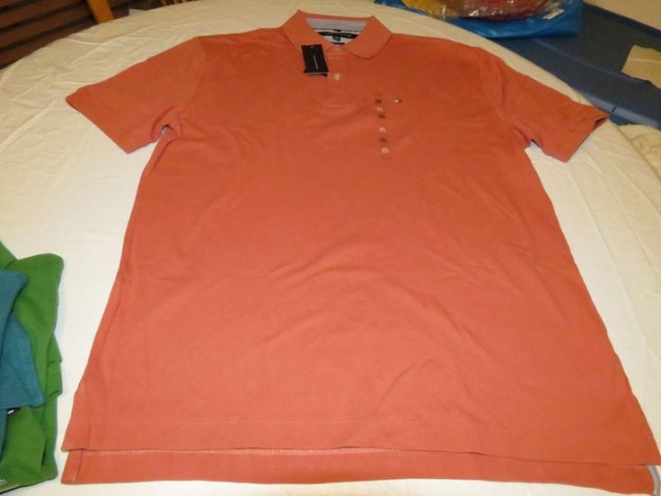 Men's Tommy Hilfiger Polo Shirt Logo 7864547 Sconset Red