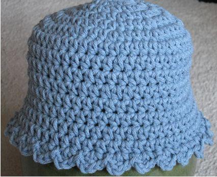 Crochet Baby HatBaby Blue, Blue Hats, Christmas Crafts, Crochet Projects, Crochet Baby Hats, Free Crochet, Crochet Hats, Crochet Patterns, Baby Pattern