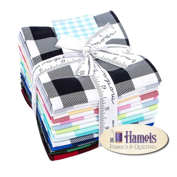 - Essentially Yours Buffalo Check Fat Quarter Bundle by Moda - Hamels Fabrics & Quilting