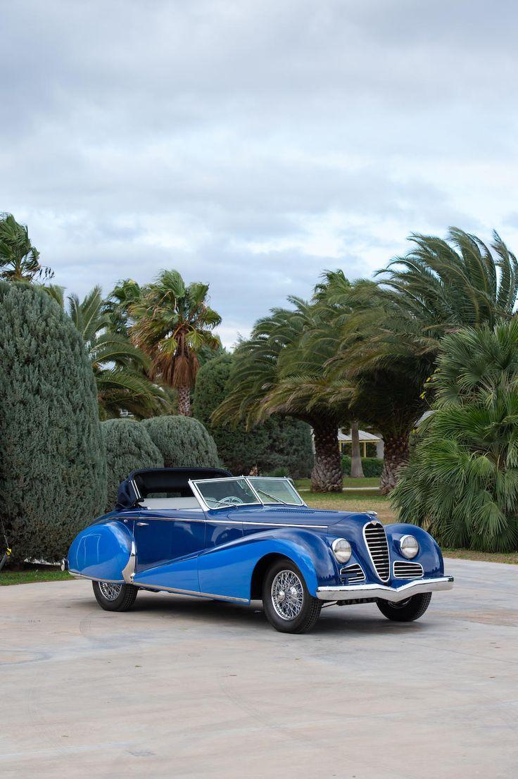 The 1948 Paris Motor Present,1947 Delahaye Kind 135 M Drophead Coupé Chassis no. 8…