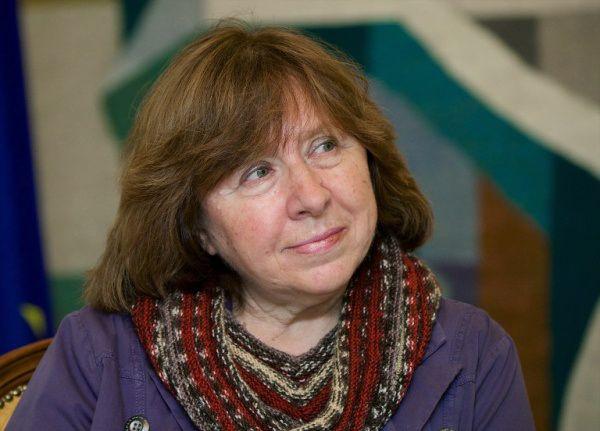Svetlana Alexievich, premio #Nobel de #Literatura https://shar.es/1uXiRk