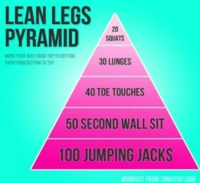 Lean Legs Pyramid Workout ...
