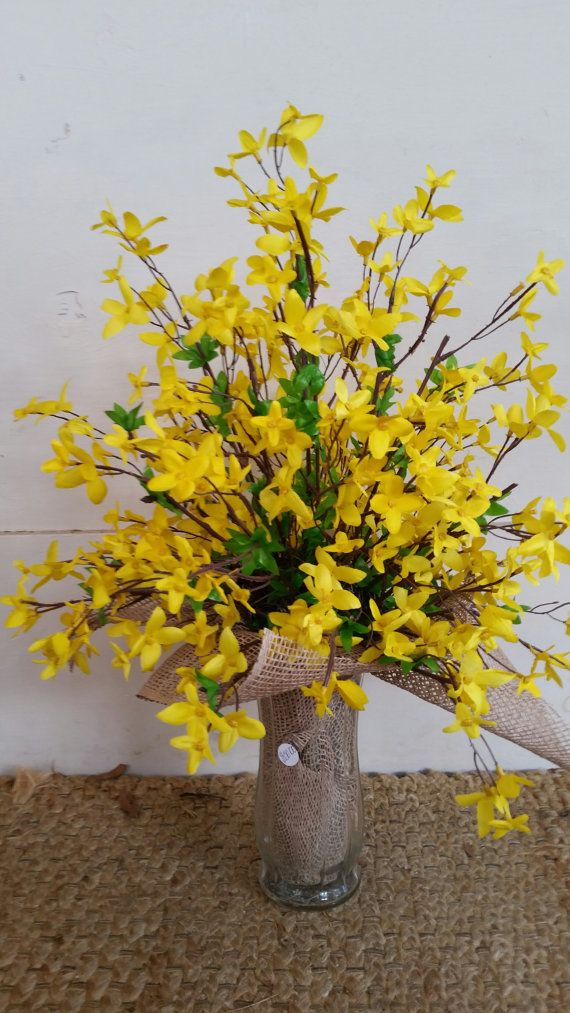 Easter Cemetery Flower Arrangement by GreeneCountyFlorist on Etsy