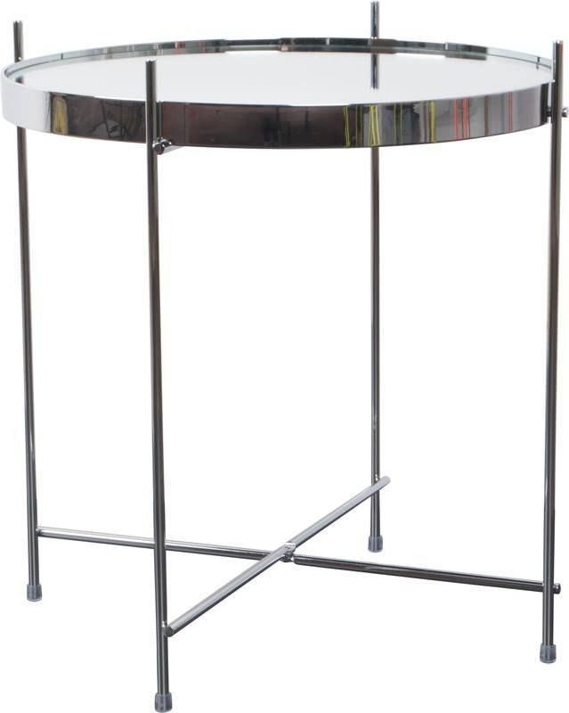Cupid+Sidebord+-+Sølv+-+Dette+fine+sidebord+fås+i+mange+forskellige+farver,+så+der+findes+helt+sikkert+et+til+enhver+smag.+Det+enkle+design+passer+godt+ind+i+de+fleste+hjem,+og+alt+efter+farvevalget+kan+det+give+både+et+elegant,+moderne+eller+hipt+look.+Jernrammen+er+sammenfoldelig+og+bordpladen+er+aftagelig.