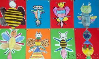 vorm: symmetrisch fantasie- insect