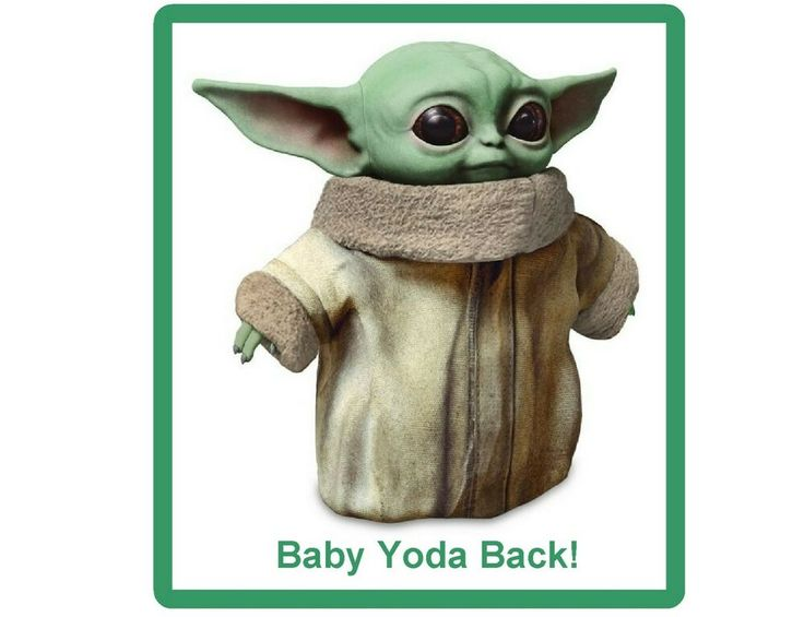 Details about happy baby yoda back refrigerator tool box