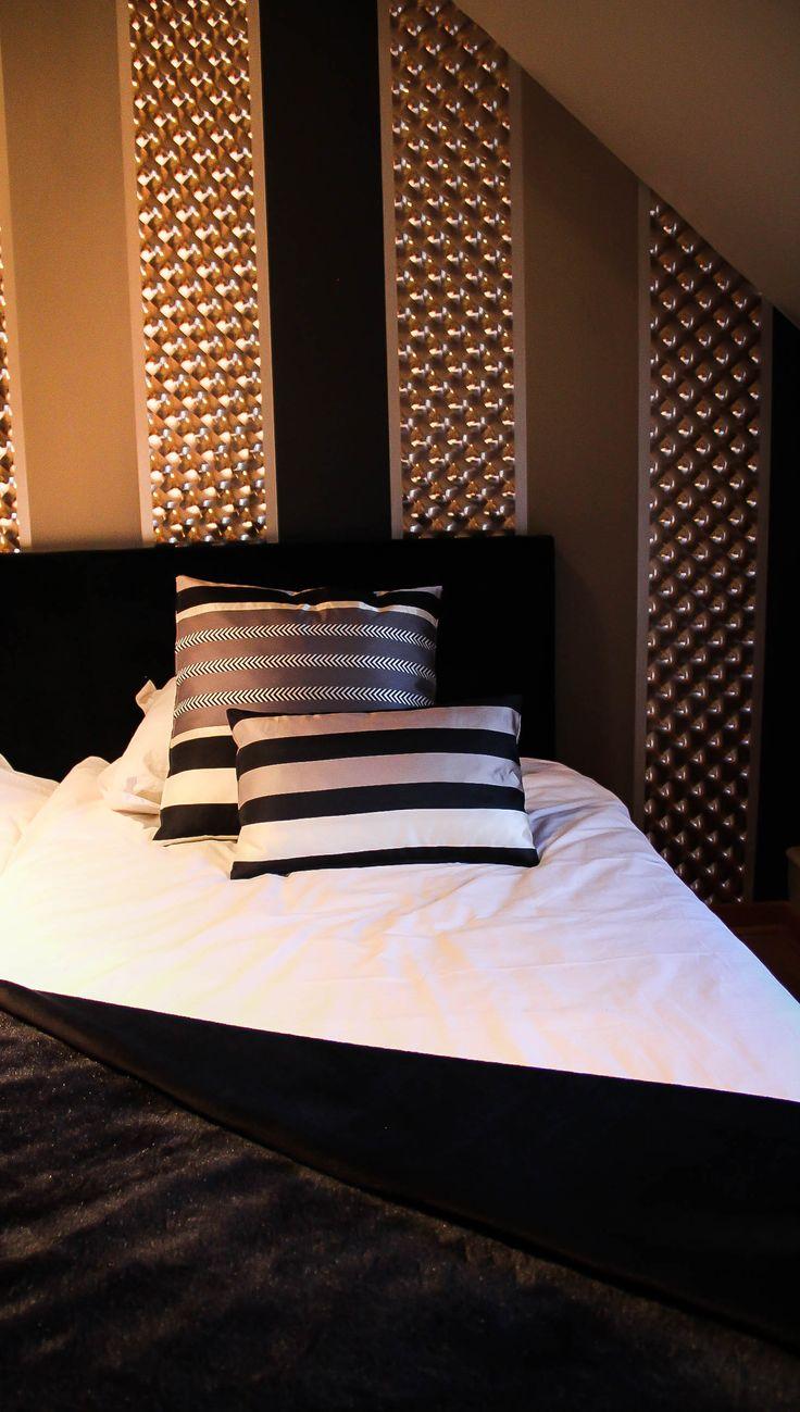 15 best d co noir images on pinterest bedrooms black people and lounges - Deco chambre noir ...