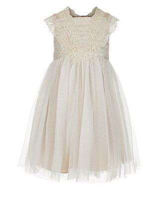 Baby Estella Flower Crochet II Dress