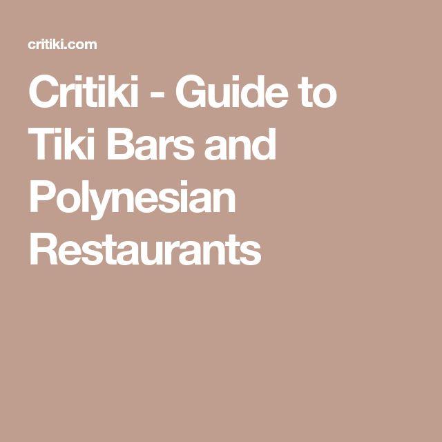 Best 25 Tiki Bars Ideas On Pinterest Tiki House Tiki