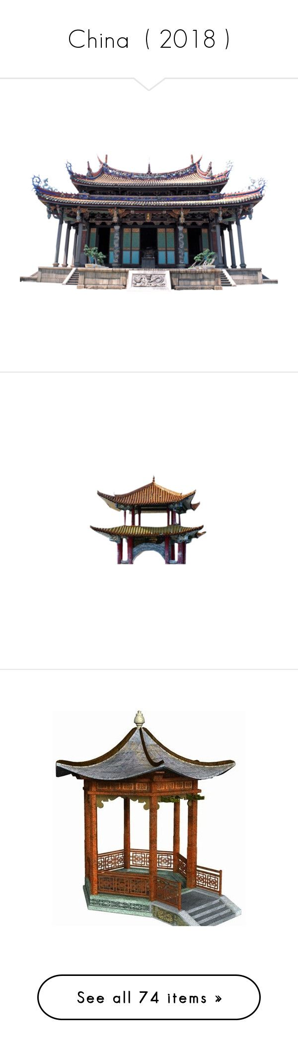 """China  ( 2018 )"" by selene-cinzia ❤ liked on Polyvore featuring asian, oriental, tubes, architecture, art, mulan, asia, bridges, backgrounds and faded"