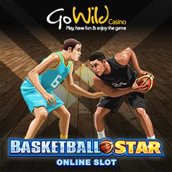 """Go Wild Casino (Micro) Is Offering NEW Players 12 FREE Spins On """"Basketball Star"""" Slot + 500 Loyalty Points On Sign Up. No Usa. Download/Instant/Mobile. Offer Here: http://casinondcentral.myfreeforum.org/about380.html"""