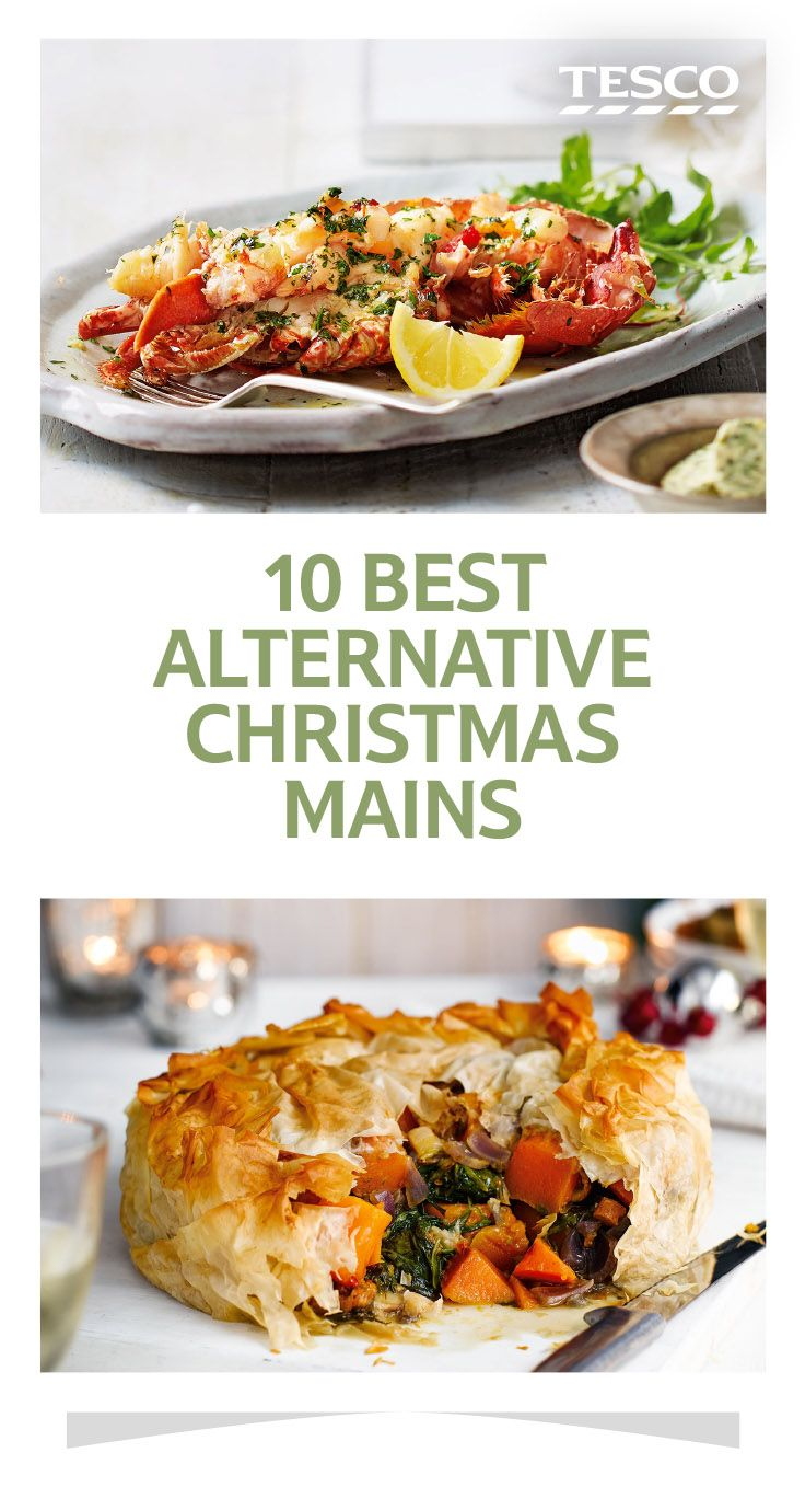 Whether you're looking for a delicious vegetarian dish or an alternative to a traditional Christmas roast, we've picked out 10 mouth-watering recipes to inspire you | Tesco