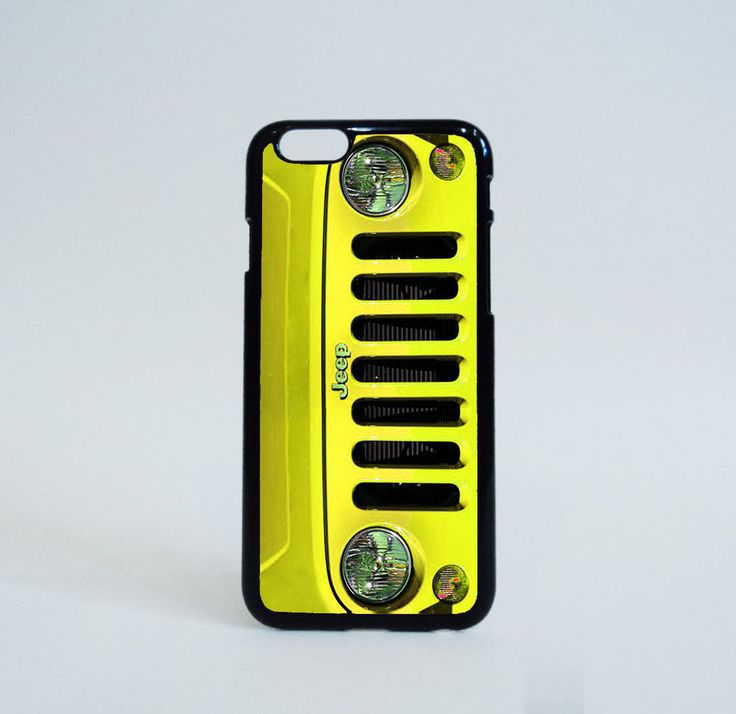 Yellow Jeep Wrangler Custom Cases iPhone 6 Case Print on Hard Plastic #Unbranded