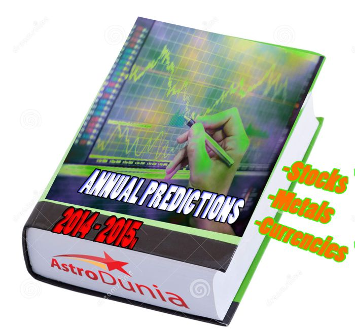 Annual Predictions 2014 is a book by financial astrologer Rajeev Prakash Agarwal describing the trend of various share market(s), commodities and currencies around the globe for the year 2014. Short to medium term change in trend have also been covered, which enhances the overall utility. His past record has been phenomenon. This book will guide investors in medium term.