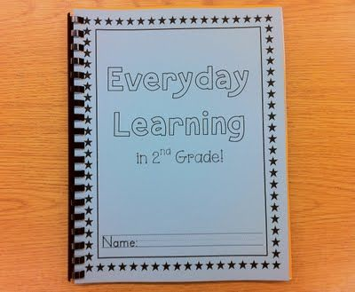 everyday learning book. sounds like a great idea!