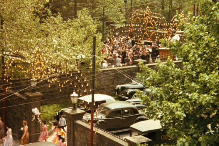Little known fact: there was originally a different opening scene. Initially, Coppola planned to open the film with a bright overhead shot of the Corleone family wedding. But when a friend saw a draft of the script, he wondered aloud if Coppola couldn't start the film with something more different and unexpected, so Coppola rewrote it.