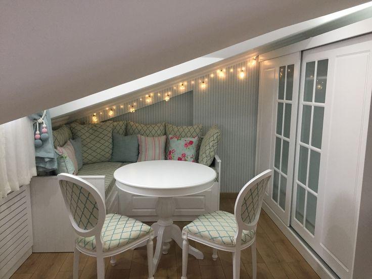 Genç odası# çatı odası dekorasyonu# modern