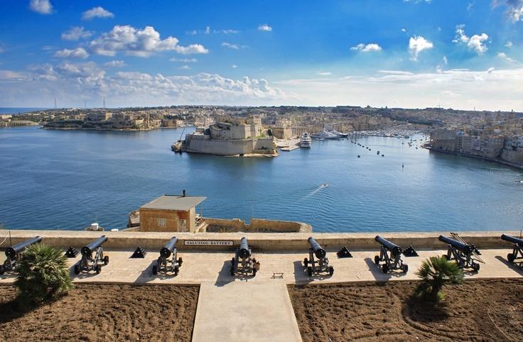 Malte - Les canons de la Valette