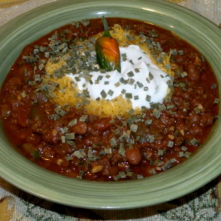 Cinfully Good Chili Recipe | Just A Pinch Recipes