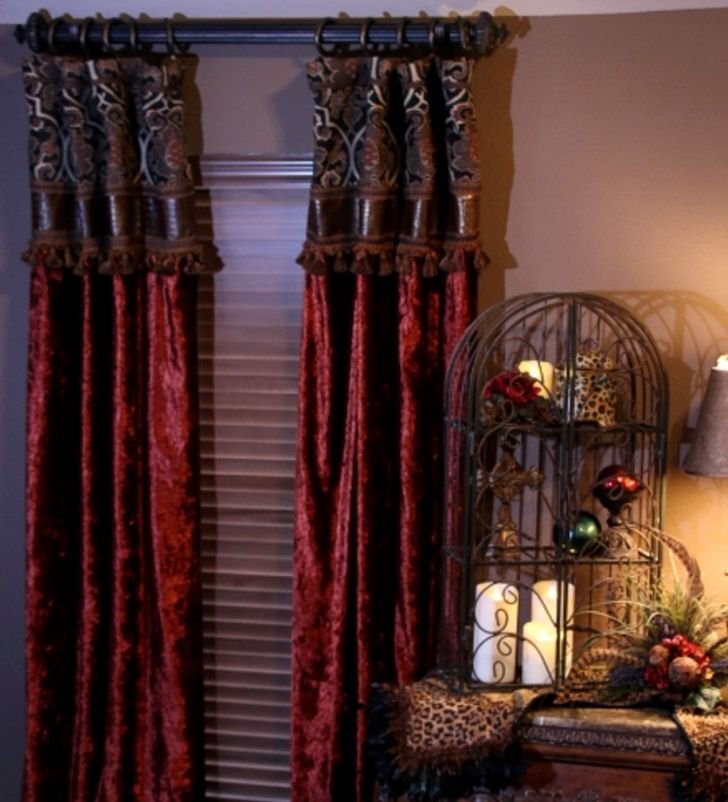 142 best CURTAINS images on Pinterest | Tuscan style ...
