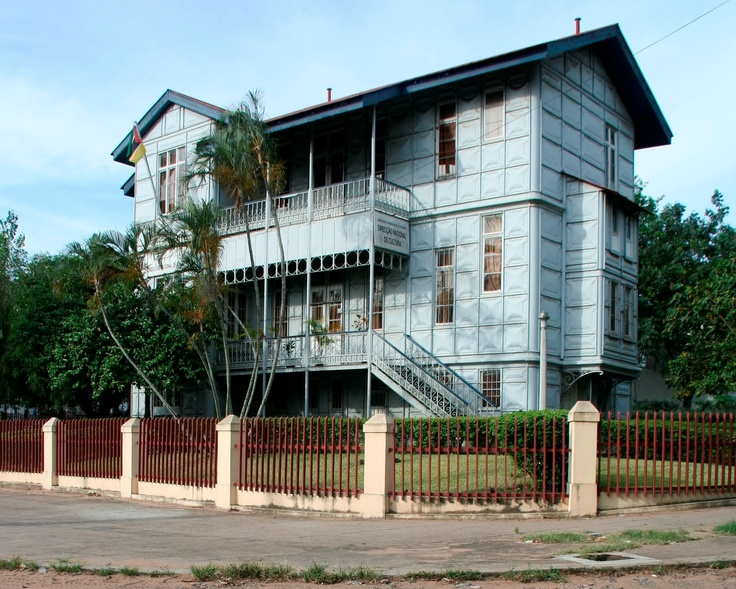 Steel House, Maputo Mozambique, designed and constructed by Gustav Eiffel