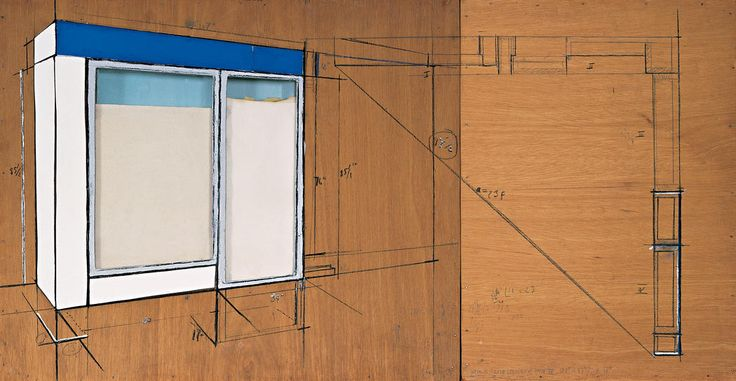 Store Front (Project) Part IV (1965) - Christo and Jeanne-Claude