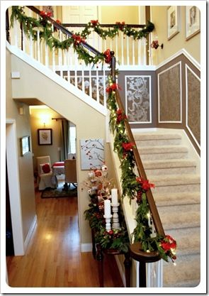more Christmas staircase