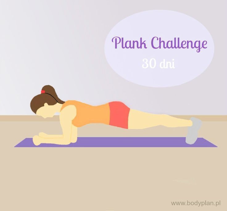 Plank challenge - płaski brzuch w 30 dni!