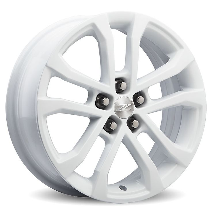 Sonic 17 in Wheel, Z-Spec, White, Single: Customize your Sonic with these 17 inch White painted 5-split-spoke Z-spec wheels, validated to GM specifications. 17 inches x 6.5 inches. Use only GM-approved tire (Hankook Optimo H428 P205/50R17, BW89H) and wheel combinations.