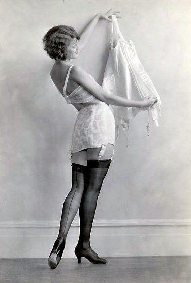1920s lingerie.