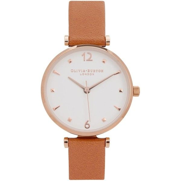 Womens Watches Olivia Burton Modern Vintage Rose Gold-plated Watch ($105) ❤ liked on Polyvore featuring jewelry, watches, olivia burton, rose gold plated jewelry, quartz movement watches and olivia burton watches