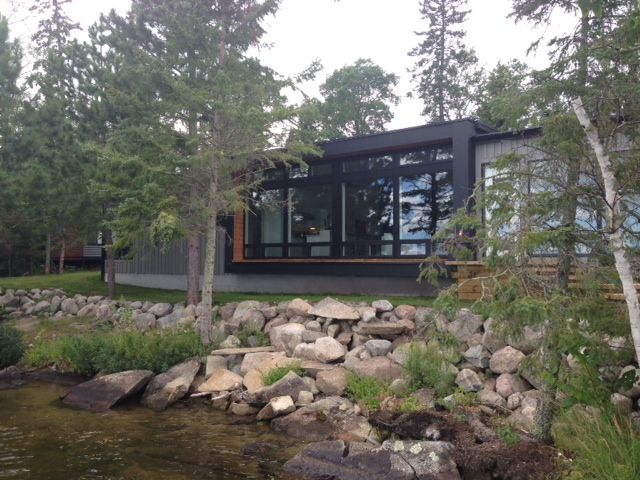 100 best hive exteriors images on pinterest modern cabins architecture and prefab - Hive modular x line container home in canada ...